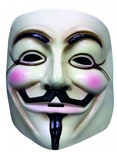 Masque V pour Vendetta™ adulte