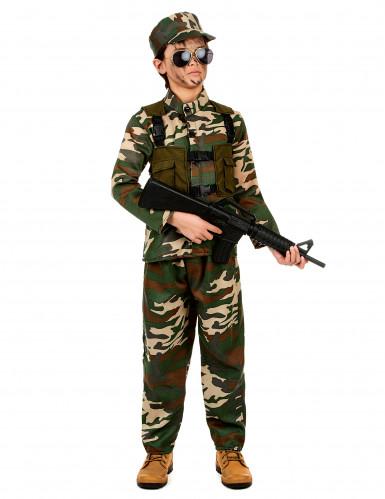 Déguisement militaire ensemble garçon