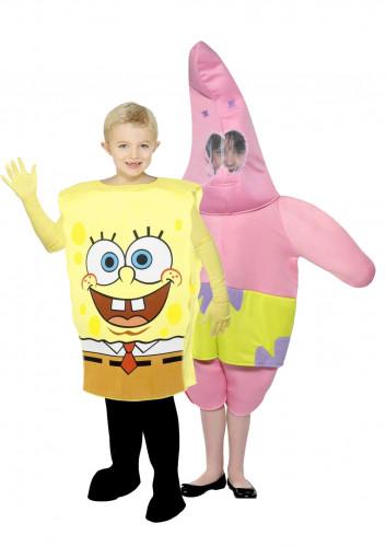Déguisement couple Bob l'éponge et Patrick™ enfants