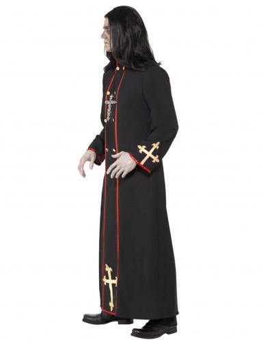 Déguisement moine démoniaque homme Halloween