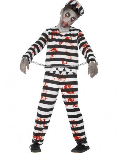 Déguisement zombie prisonnier garçon Halloween