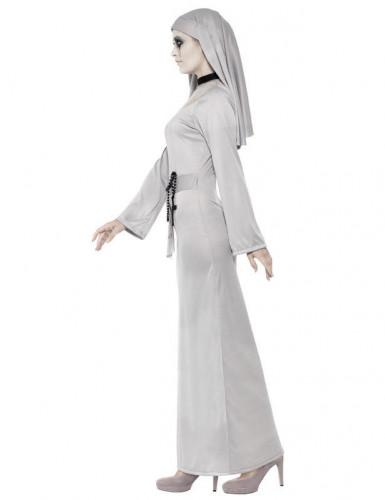 Déguisement fantôme religieuse femme Halloween