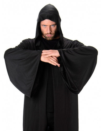 Cape longue à capuche homme Halloween