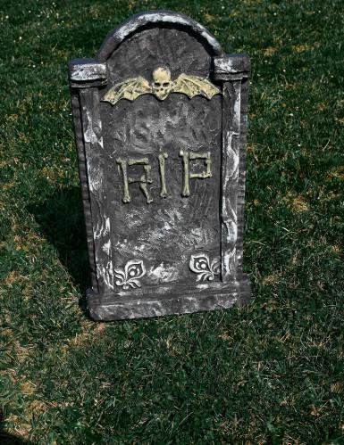 Décoration pierre tombale Halloween 63 x 35 cm