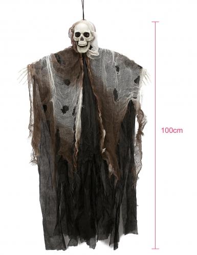 Décoration faucheur squelette à suspendre
