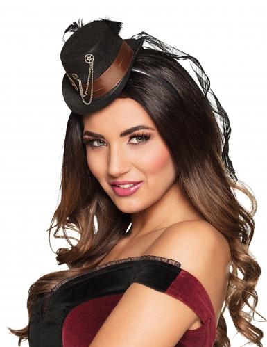 Mini chapeau roues dentées femme Steampunk