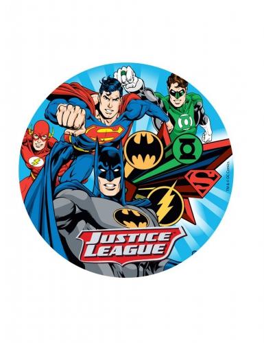 Disque azyme Justice League ™ 20 cm