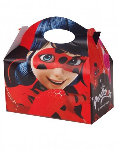 12 Boîtes en carton Ladybug™ 10,5 x 16 cm