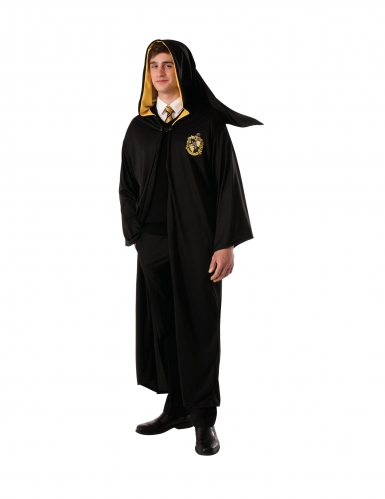 Déguisement robe de sorcier Poufsouffle Harry Potter™ adulte
