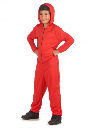 Déguisement voleur rouge enfant