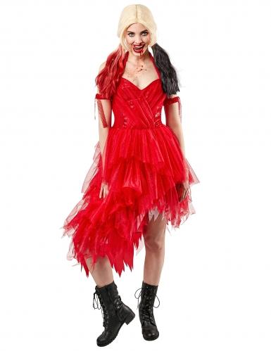 Robe rouge Harley Quinn™ femme - Suicide Squad 2™