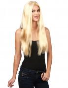 Perruque blonde femme adulte