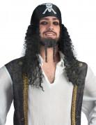 Perruque bandana pirate adulte