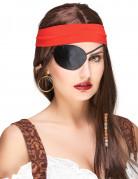 Cache-œil noir pirate adulte