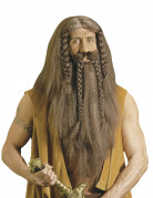 Perruque barbare viking homme