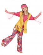 Déguisement hippie muticolore fille