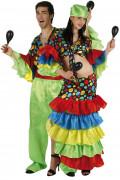 Déguisement couple danseurs rumba