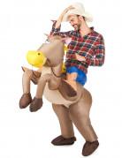 Vous aimerez aussi : Déguisement cheval gonflable adulte