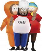 Déguisement trio Officiel Kenny Chef et Cartman de South Park