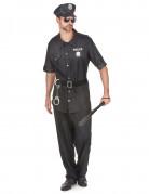Déguisement policier noir homme