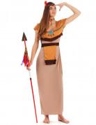 Déguisement indienne robe longue sexy femme