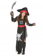 Déguisement pirate capitaine fille
