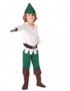 Déguisement garçon des bois blanc et vert