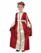 Déguisement médiévale reine fille