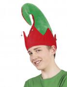 Bonnet elfe Noël avec grelots adulte