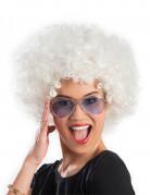 Vous aimerez aussi : Perruque afro/ clown blanche volume adulte