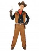 Déguisement cowboy du Far West garçon
