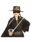 Kit Zorro™ Epée en plastique masque et chapeau enfant