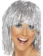 Vous aimerez aussi : Perruque disco métallique argent adulte
