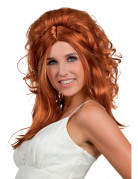 Perruque cowgirl rousse femme