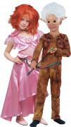 Déguisement couple Arthur et Selenia Minimoys™ enfants