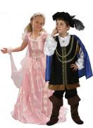 Déguisement couple princesse et prince enfants