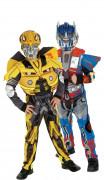 Déguisement de couple Bumble bee et Optimus Prime Transformers™ enfants