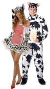 Déguisement couple vaches