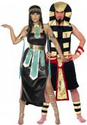 Déguisement couple pharaons egyptiens