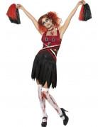 Déguisement zombie pompom girl femme Halloween