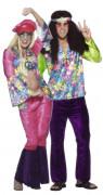 Déguisements couple hippies