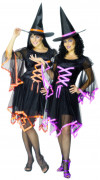 Déguisements de couple de sorcières Halloween