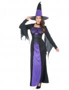 Déguisement sorcière à corsage femme Halloween