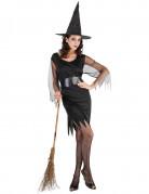 Vous aimerez aussi : Déguisement sorcière manches en tulle femme Halloween
