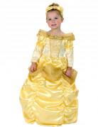 Déguisement princesse dorée fille