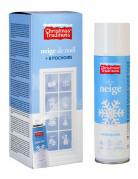 Bombe spray neige avec pochoirs Noël