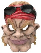 Vous aimerez aussi : Masque caricature motard américain adulte