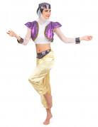 Déguisement danseuse orientale coloré femme