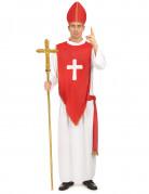 Vous aimerez aussi : Déguisement cardinal rouge et blanc homme