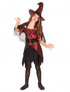Vous aimerez aussi : Déguisement sorcière rouge satiné fille Halloween
